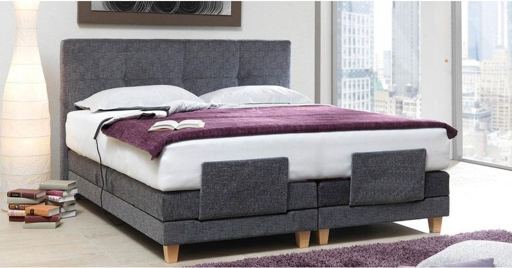boxspringbett elea motorisch verstellbar. Black Bedroom Furniture Sets. Home Design Ideas