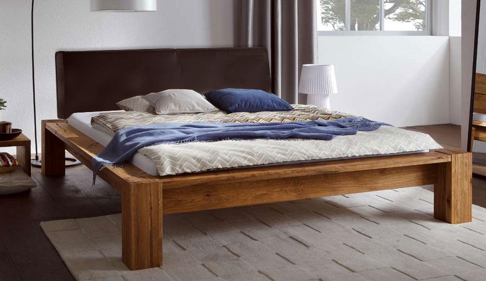 schlafen bettgestell hasena oak line wild 160x200 cm. Black Bedroom Furniture Sets. Home Design Ideas