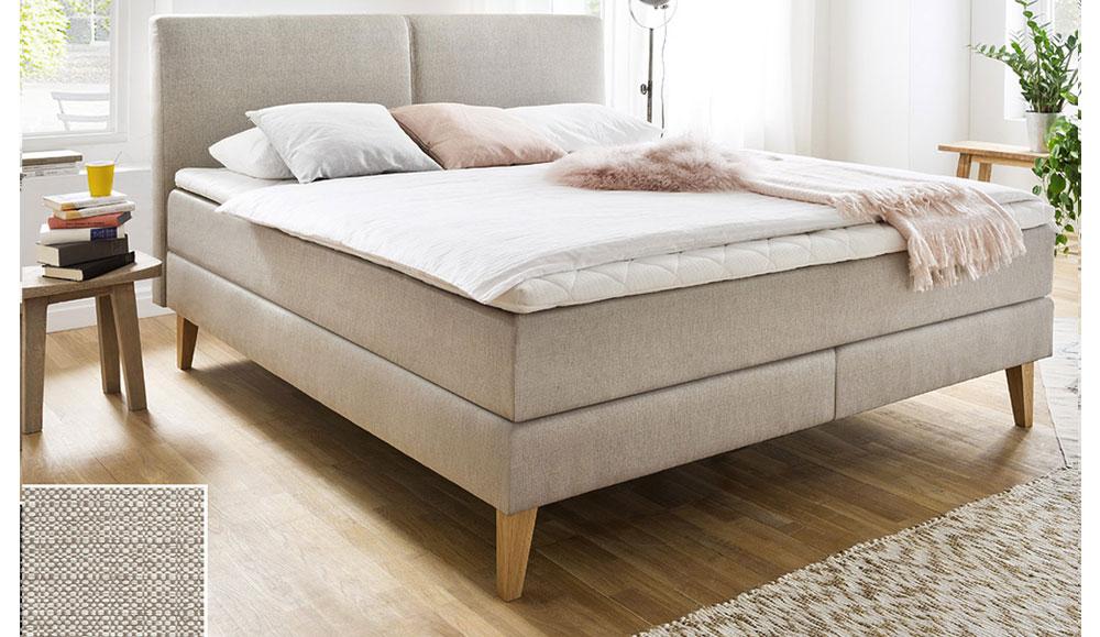 schlafen boxspringbett greta. Black Bedroom Furniture Sets. Home Design Ideas
