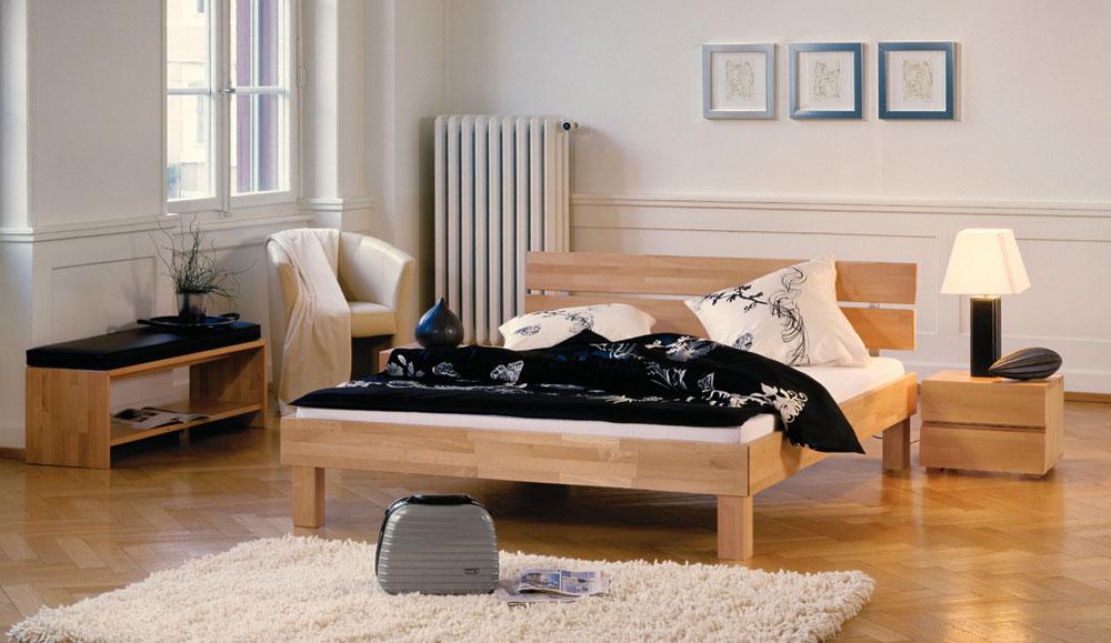bettgestell hasena wood line. Black Bedroom Furniture Sets. Home Design Ideas