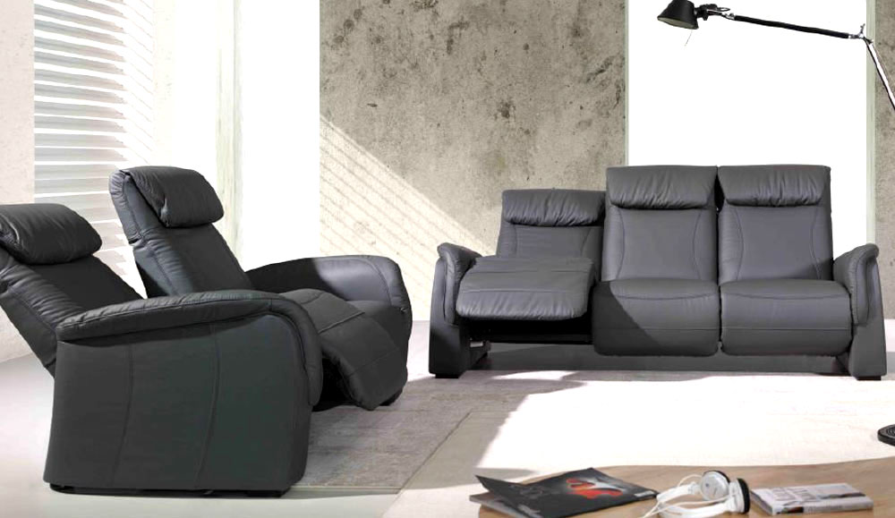 polstergruppe home cinema mit funktion. Black Bedroom Furniture Sets. Home Design Ideas