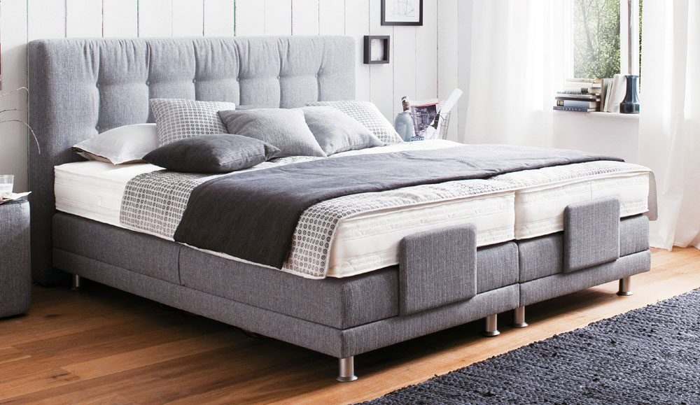 boxspringbett modena elektrisch verstellbar. Black Bedroom Furniture Sets. Home Design Ideas